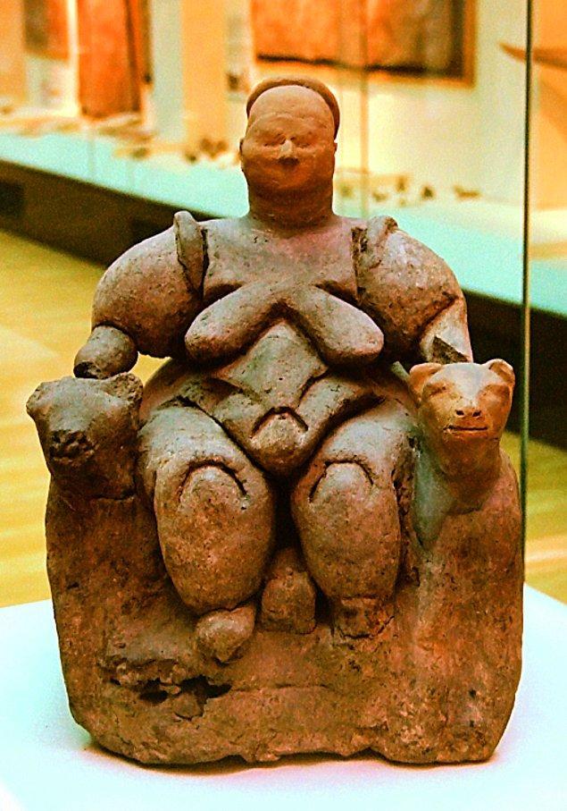 3. Ana Tanrıça  ( Çatalhöyük)