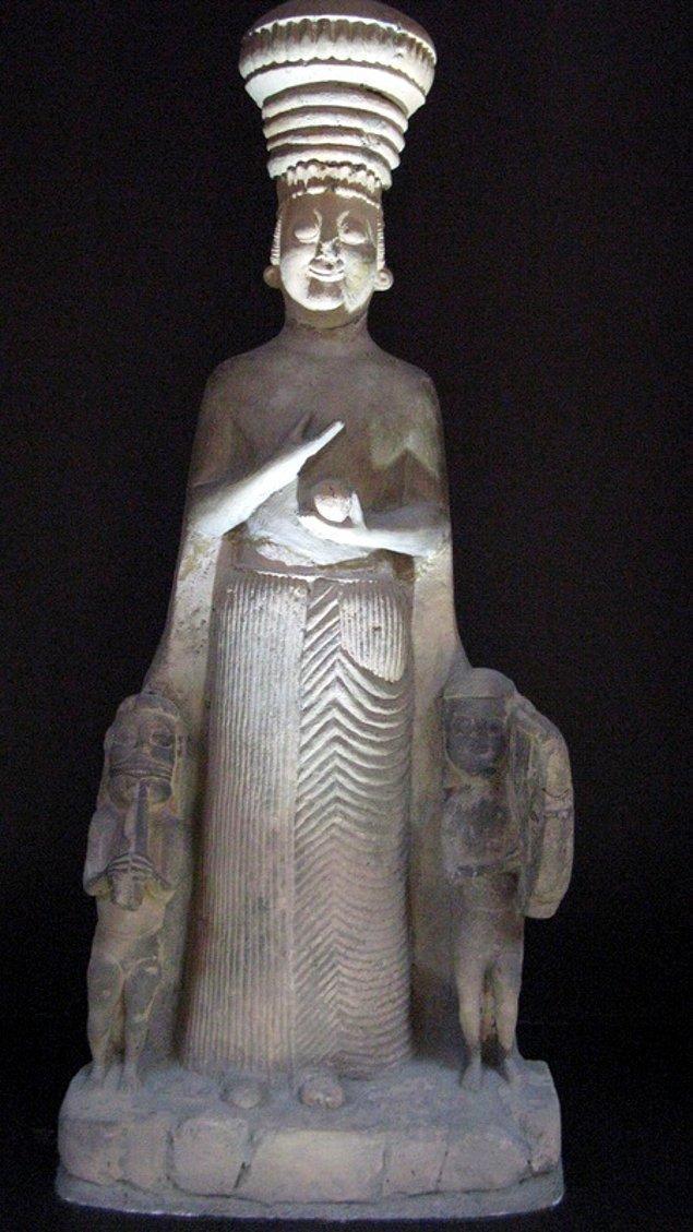 6. Frig dönemi ana tanrıça heykeli
