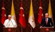 Papa: 'Tanrı Türkiye'yi Kutsasın ve Korusun'