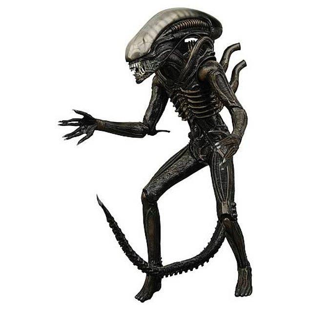 12. Aliens 7 inch series 2 aliens warrior figür