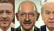 Liderlerin yüz simetrileri