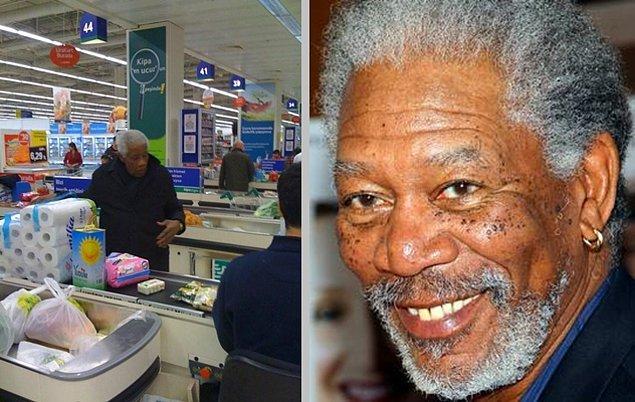 7. Esaretin bedelini Kipa'da ödeyen Morgan Freeman