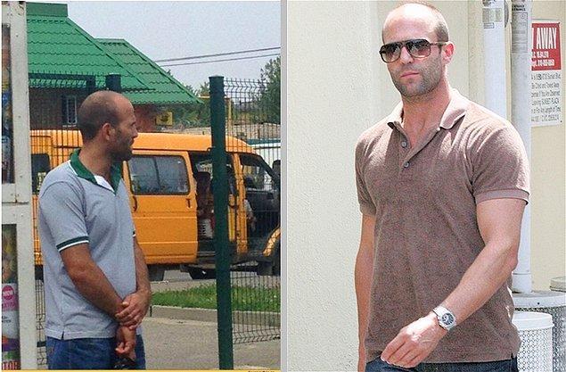 19. Jason Statham Bağcılar dolmuşunu bekliyor