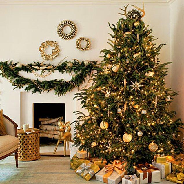 13. Işıklar altında bir ağaca ne dersiniz?