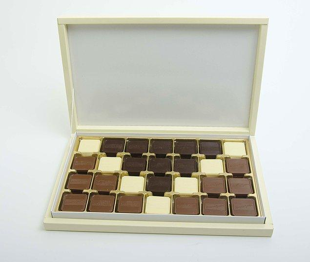 5. Çikolata kutusuna 500 bin dolar sığmayacağını göstererek izah edin.