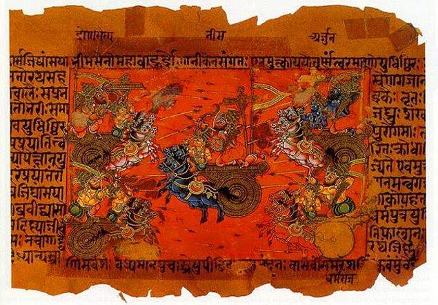 9. Mahabharata'da  Vimanalar (Uçan Araçlar)