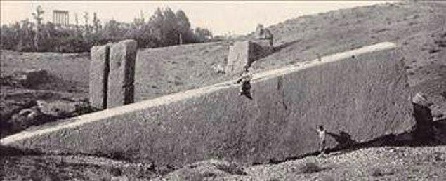 41. İşlenmiş Dev Kaya Blokları