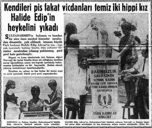 Image result for türkiye hippiler gazete haberi