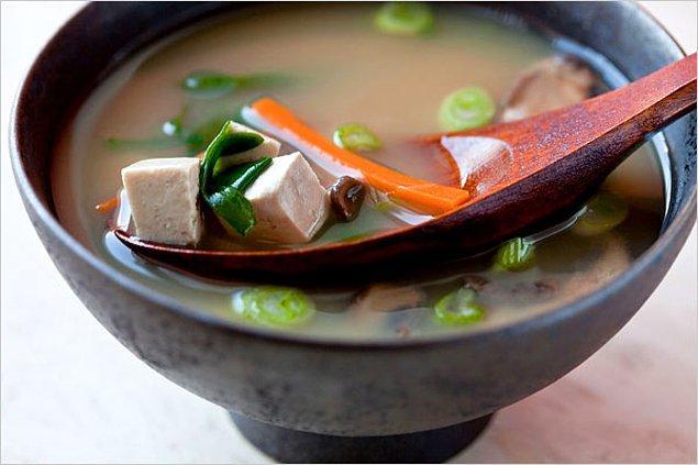 1. Miso Çorbası