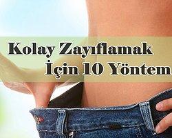 Zayıflamanın 10 Kolay Yolu
