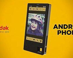 Kodak İlk Akıllı Telefonunu Görücüye Çıkarıyor