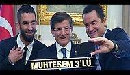 Acun Ilıcalı ve Arda Turan Davutoğlu'nu ziyaret etti