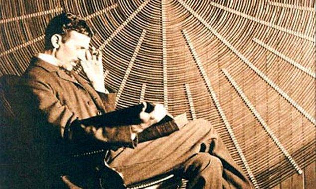8. Tesla alternatif akım ile ilgili olarak şu sözleri söylemiştir: