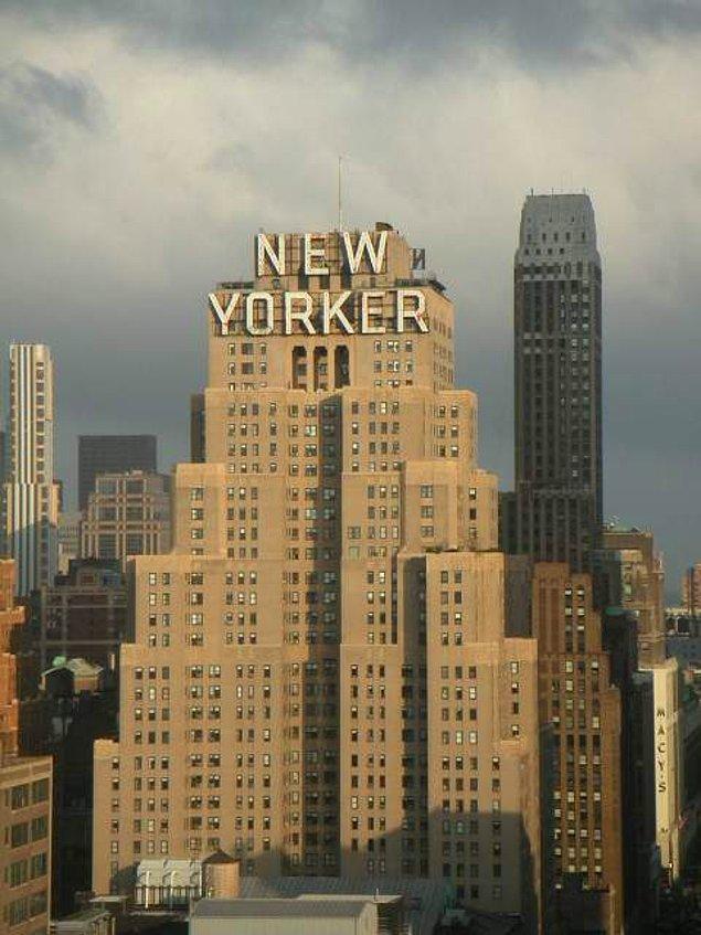 Yaşamını kaybettiği New Yorker Oteli
