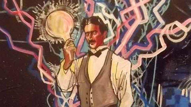 17. Tesla'nın başarıları karşısında elde ettiği ödül neydi dersiniz? Edison Madalyası!.. Edison tarafından sürekli eleştirilen birine bundan daha kötü bir ödül olamazdı.