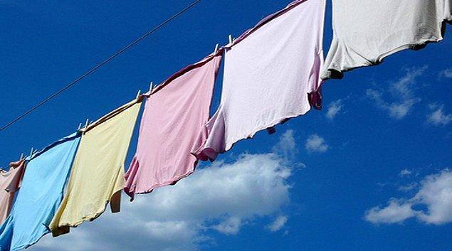 19- İsviçre'de pazar günü çamaşır asmak yasak.