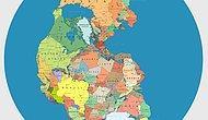 Bundan 300 Milyon Yıl Önce, Pangea Kıtasında Ülkeler Bugünkü Sınırlarıyla Olsaydı, Yerleşim Nasıl Olurdu?