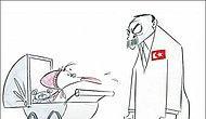 Washington Post'tan Cumhurbaşkanı Erdoğan'a 'Hassas' Karikatür