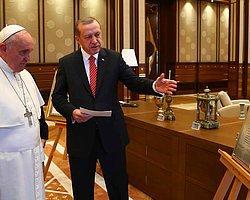 2014 yılında Türkiye'ye gelen Katolik aleminin lideri Vatikan Devlet Başkanı: Papa Francis