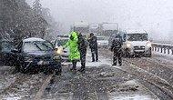Türkiye Kar ve Fırtınaya Teslim