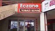 Ankara'da bir eczaneden yılbaşı mesajı: HIRSIZI, KATİLİ, YOBAZI KOVALA !!!