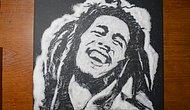 Şekerle Bob Marley Çizimi