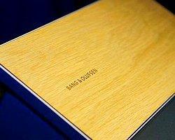 Bang & Olufsen'in Ahşap Müzik Tableti