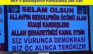 AKP'li Belediyenin Panosunda Şok İlan