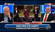 Ahmet Çakar: Messi'nin Kıyafetini Aksaray'da Pavyonda Giyiyorlar!