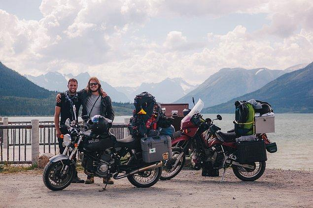 38. ''Yukon'dayken ev için hızlı bir fotoğraf çektik. Eşyalarımızı yerleştirmekte daha iyiye gidiyoruz.''