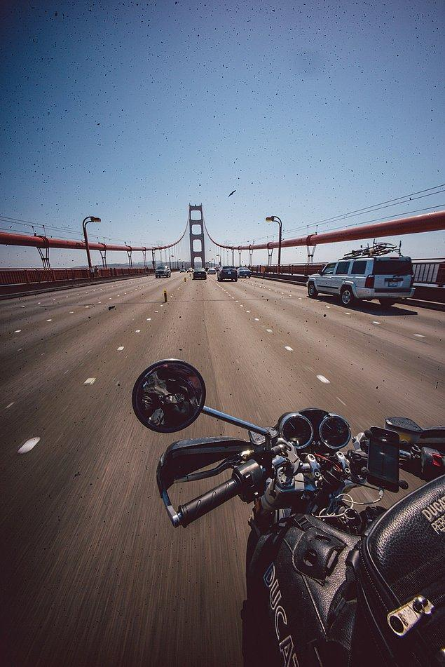 71. ''San Francisco'ya döndüğümde, tekrar Golden Gate köprüsünü görmek benim için oldukça iyiydi.