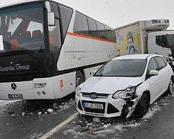 Eskişehir'de Zincirleme Kaza: 43 Yaralı