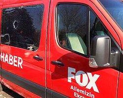 Fox TV'ye Taşlı Saldırı