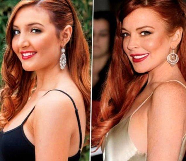 4. Ashley Horn > Lindsay Lohan