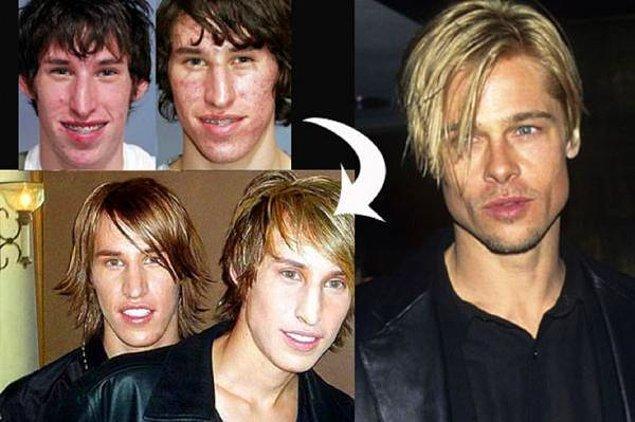 6. Matt ve Mike Shlepp Kardeşler > Brad Pitt