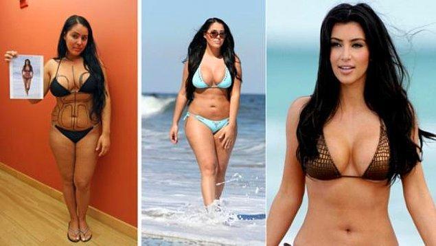 18. Myla Sinanaj > Kim Kardashian