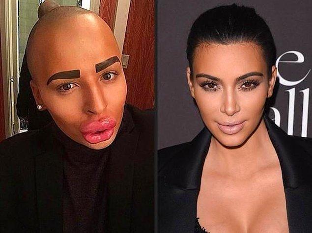 19. Jordan James Parke > Kim Kardashian