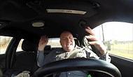 Ekip Arabasında Coşarak Shake It Off Şarkısını Adeta Yaşayan Polis