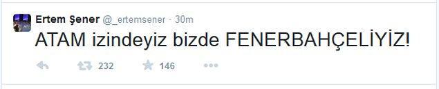 İşte Ertem Şener'in hesabından atılan o tweetler
