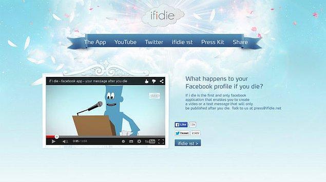 If I Die: Vasiyetim Facebook'ta çıksın