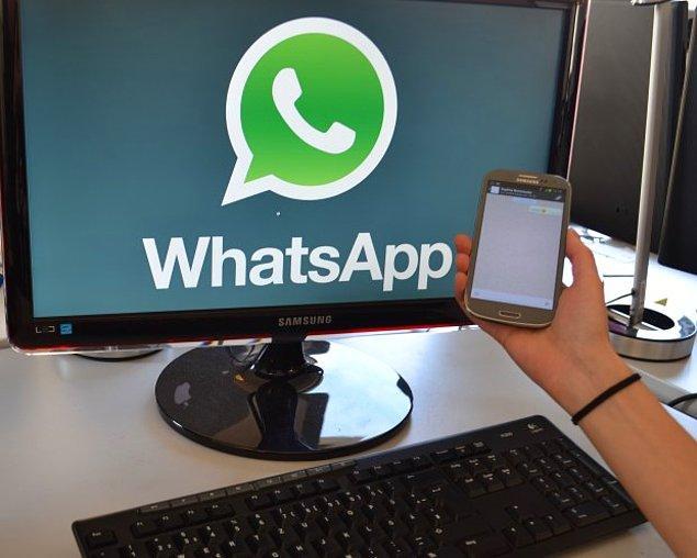 8. Ve WhatsApp Artık Bilgisayarda