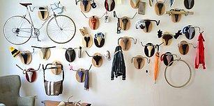 Bisikletin Kullanıldığı 10 Yaratıcı İç Mekan Dekorasyonu
