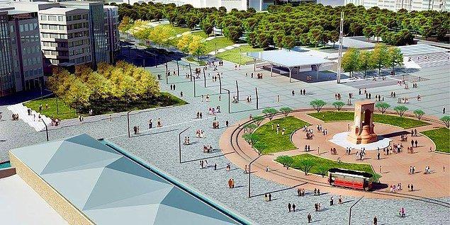 9. Taksim Meydanı'nın Düzenlenmesine İlkbaharda Başlanıyor