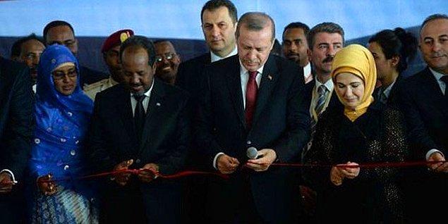 5. Cumhurbaşkanı Erdoğan'a Somali'de Diriliş Marşlı Karşılama