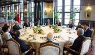 Yasama-Yürütme ve Yargı Cumhurbaşkanlığı Sarayı'nda Buluştu