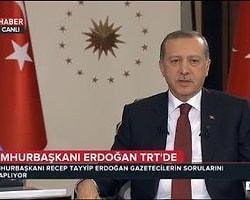 Önceki gün Erdoğan'ın TRT Haber'de katıldığı canlı yayın programındaki KJ, sosyal medyadaki paralel şahıslar tarafından montajlandı.