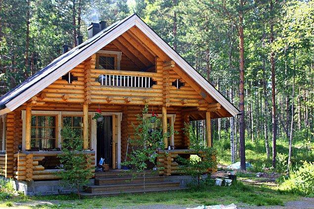 5. Çünkü Finlandiyalılar yazlarını ahşaptan evlerde geçiriyorlar.