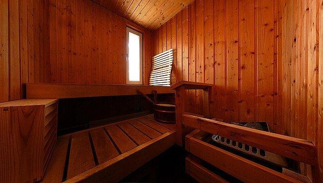 6. Ve yorucu bir günün ardından evinizde sauna bulunduğunu bilmek harika bir his.