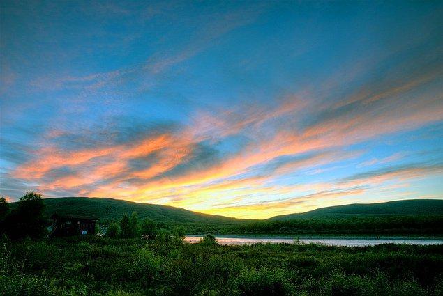 12. Hatta yazın Finlandiya'nın bazı yerlerinde güneş 2 ay boyunca hiç batmıyor.