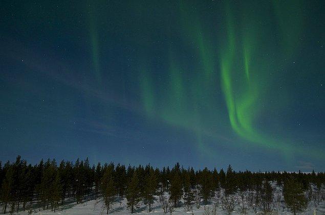 15. Çünkü Lapland'da kuzey ışıklarını görebilirsiniz.
